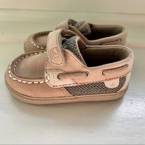 Baby Sperry Shoes Size 3